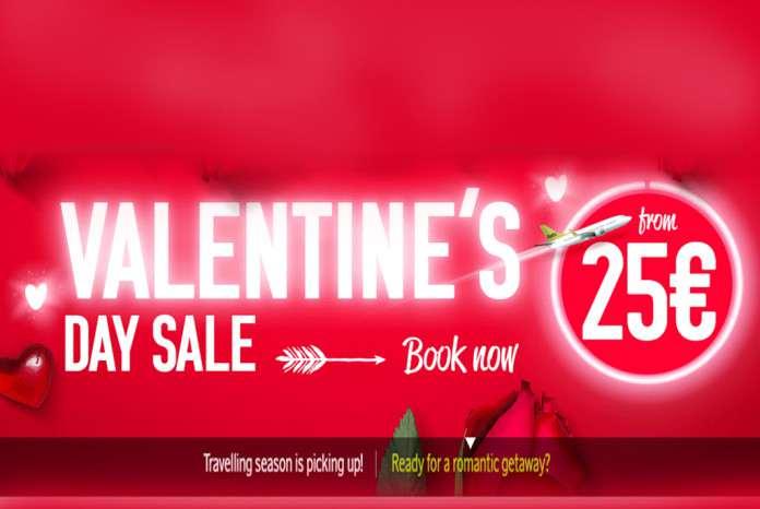 airBaltic Valentine's day