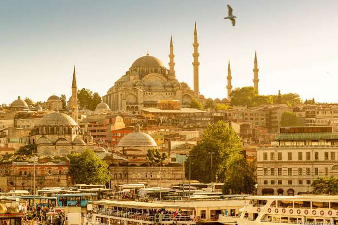 Стамбул летом