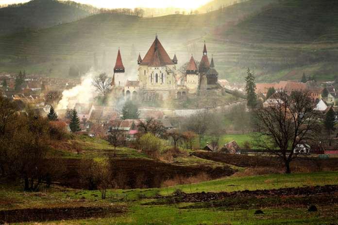 Замки Румынии Biertan