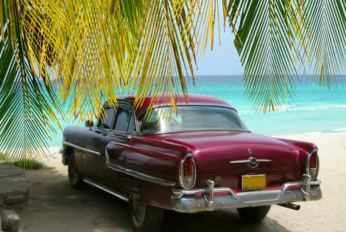 Гавана старые машины