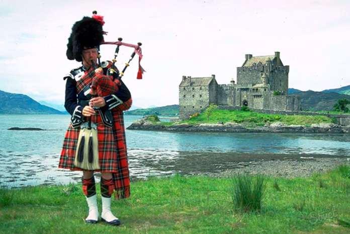 Шотландия национальная одежда