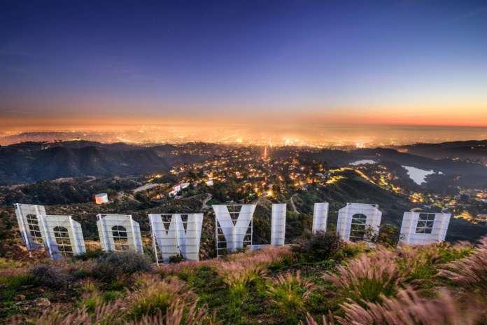 гора Голливуд Лос-Анджелес