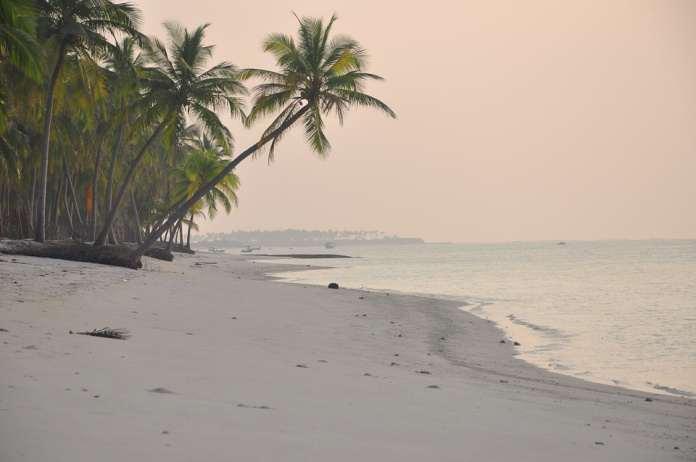 Гоа пляж закат