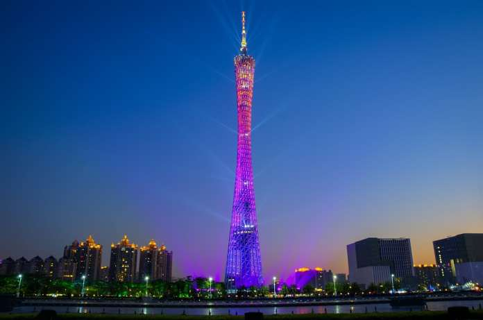 Гуанчжоу телебашня