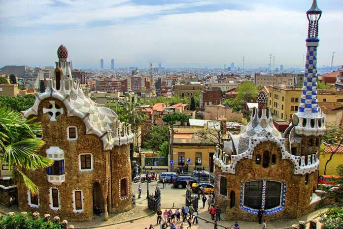 Барселона парк Гуэль