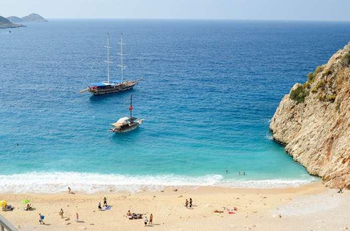 Капутас пляж, Анталия