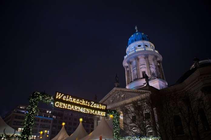 Берлин Рождество ярмарки