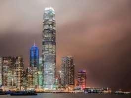 Гонконг небоскребы