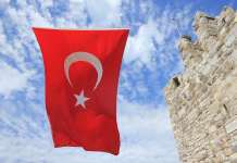 Турция флаг