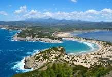 voidkokilia пляж Пелопоннес