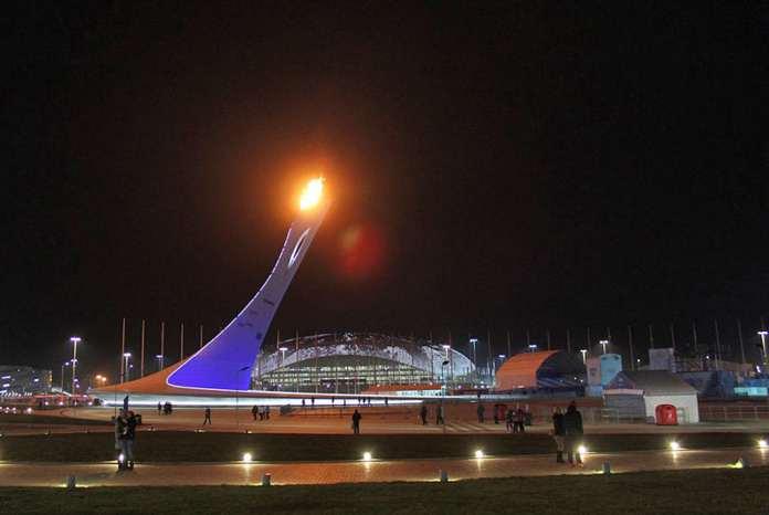Сочи олимпийский огонь