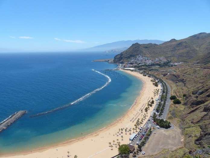 тенерифе пляж