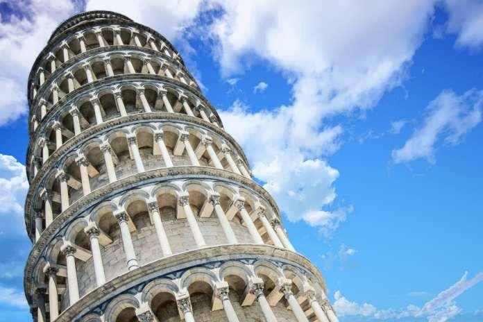 Падающая башня Пиза