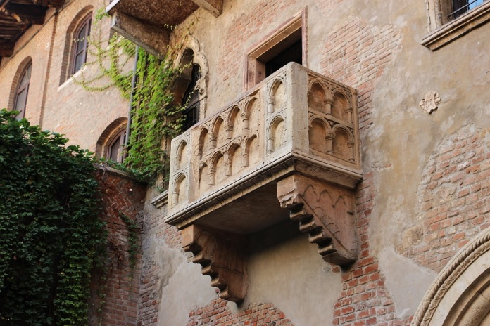 Балкон Джульетты, Верона