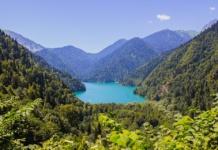 озеро абхазия