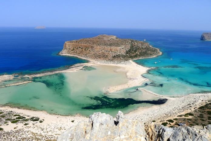 пляж Балос, Крит