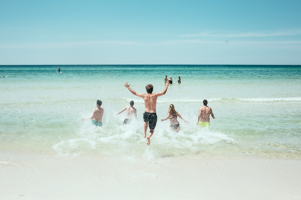 Море, пляж, лето