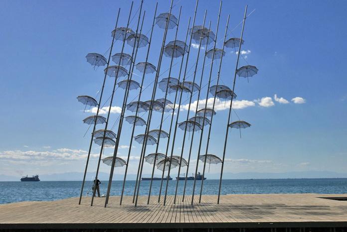 Салоники зонтики
