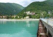 Абхазия, море