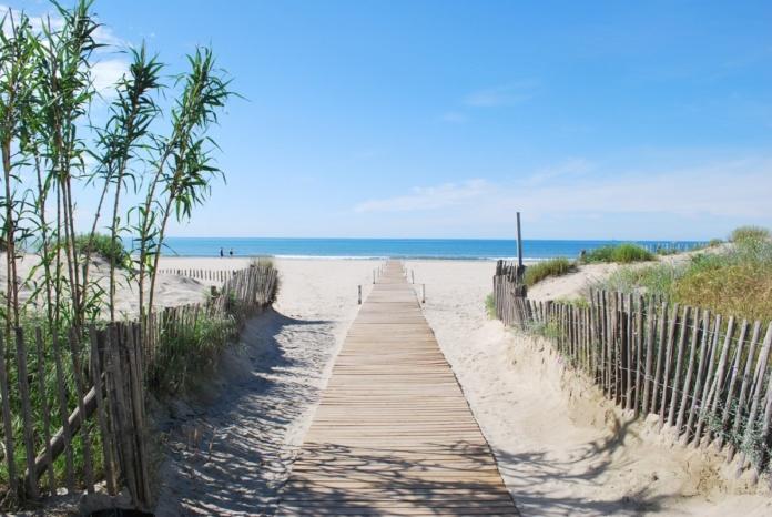 Монпелье пляж Карнон