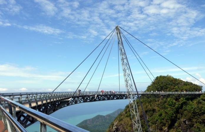 лангкави подвесной мост