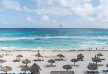 Мексика, Канкун, пляж