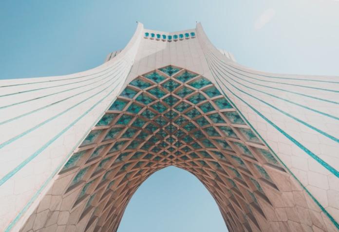 Тегеран, Иран, Арка Башня Азади