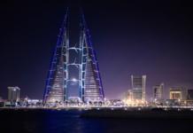 Манама, Бахрейн, ночью