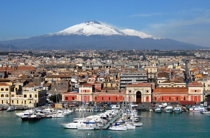 Катания, Сицилия