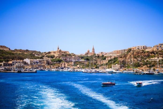 Мальта вид с моря