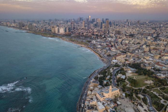 Тель-Авив, Израиль, море