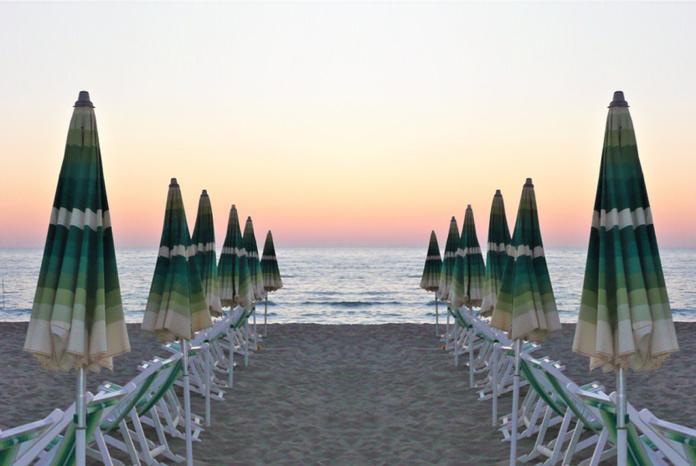 Римини пляжи