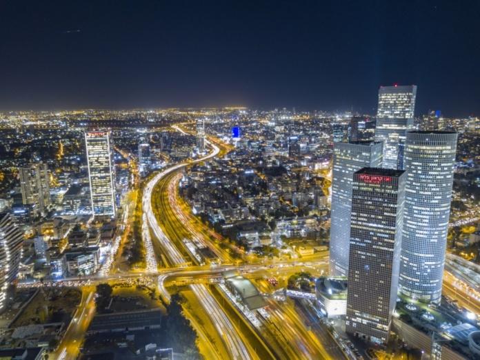 Тель-Авив ночью