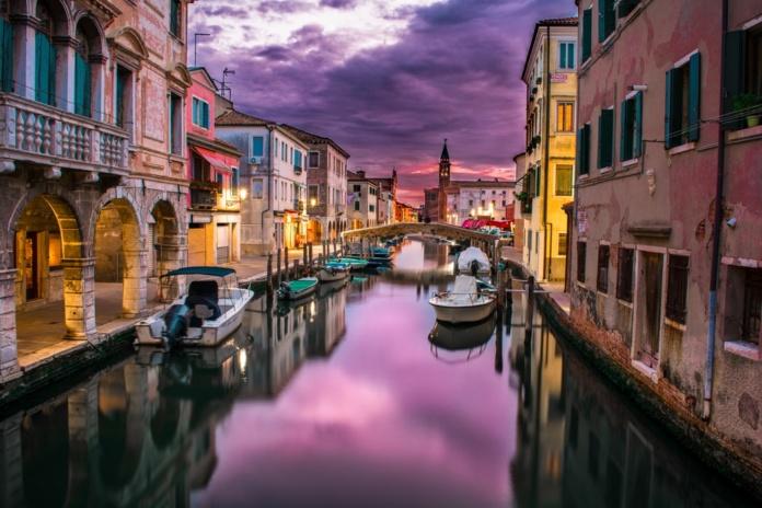 Венеция вечерняя